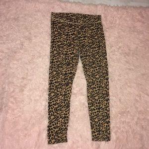 PINK cheetah leggings